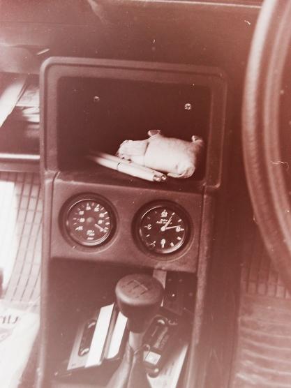 Armaturen meines ersten VW-Golf