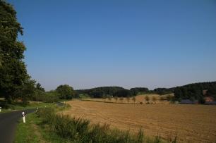 Rückblick, Richtung Gellenbeck