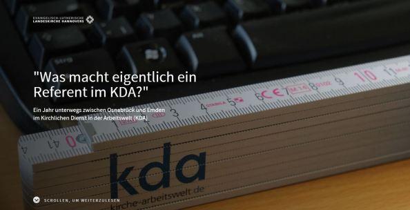 Titelbild Pageflow: Was macht eigentlich ein Referent im KDA?