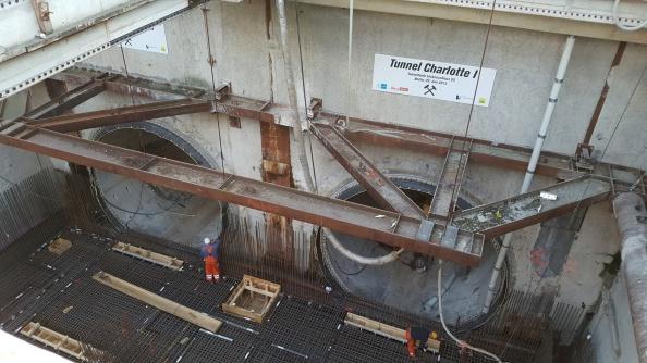 Betriebsbesuch des KDA auf der Baustelle U5 inBerlin
