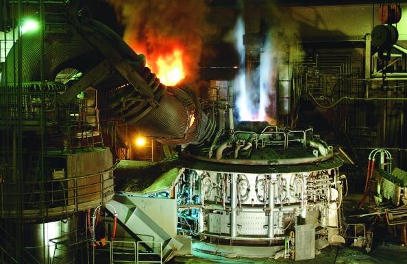 Alles nur Schrott. Betriebsbesuch im Stahlwerk Georgsmarienhütte