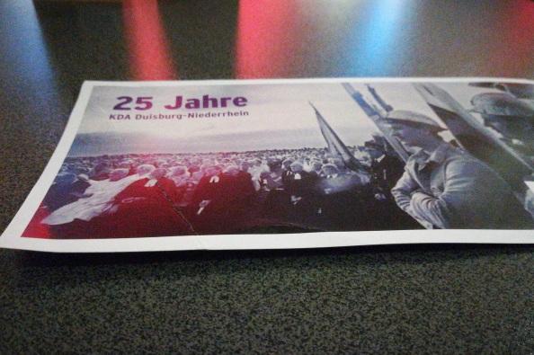 25 Jahre Kirchlicher Dienst in der Arbeitswelt Duisburg-Niederrhein: Mein persönlicher Rückblick auf die Festveranstaltung