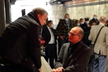 Claus-Dieter Hoff von vph-Media und Karl-Martin Harms im Gespräch
